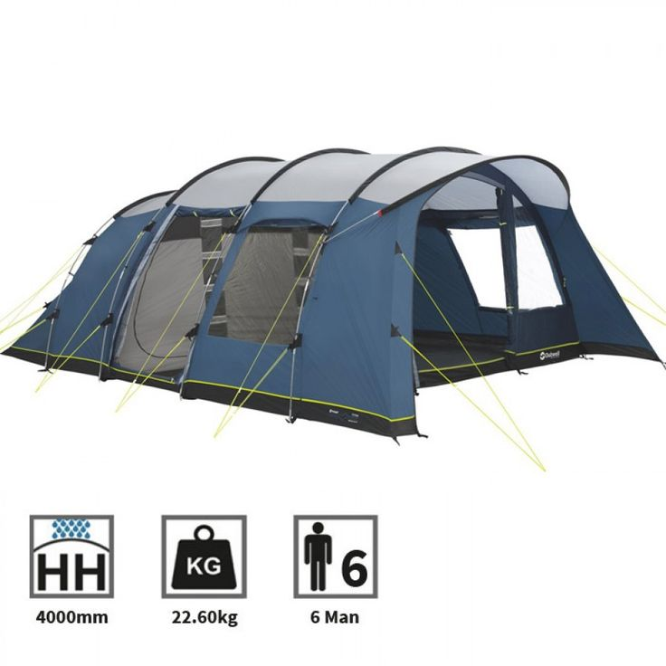 Outwell Whitecove 6 Man Tent - 2016 | Charlies Direct