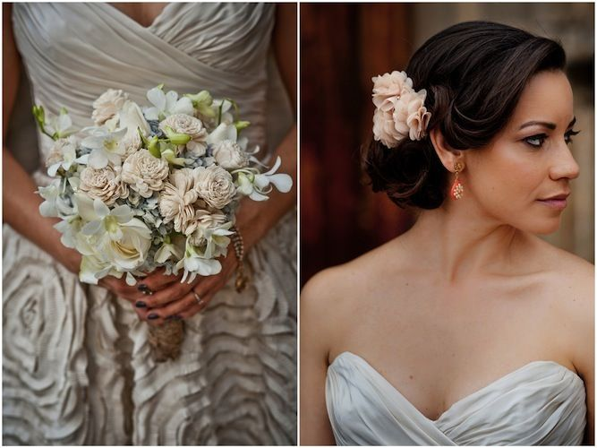 Stunning bride and bouquet at this gorgeous wedding in Guatemala: http://su.pr/1zajr2  Photos by Davina + Daniel: Gorgeous Flowers, Bridal Bouquets, Stunning Bride, Wedding Bouquets, Romantic Hair, Unique Wedding, Wedding Flowers, Cute Hair, Hair Style