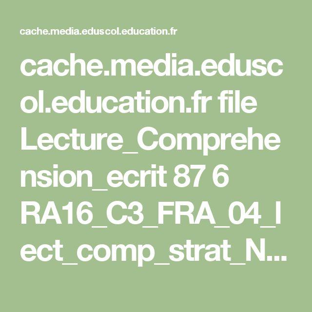 cache.media.eduscol.education.fr file Lecture_Comprehension_ecrit 87 6 RA16_C3_FRA_04_lect_comp_strat_N.D_612876.pdf