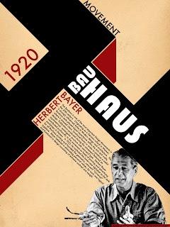 Bauhaus / Herbert Bayer poster