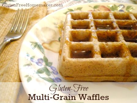 Multi-Grain Waffles | The Gluten-Free Homemaker