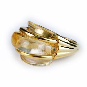 Kenneth Jay Lane Gold Dome Ring Kenneth Jay Lane. $85.00