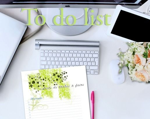 Gestionnaire de tâches, ou todo list, à télécharger | APPRENDRE A DESSINER, artettuto
