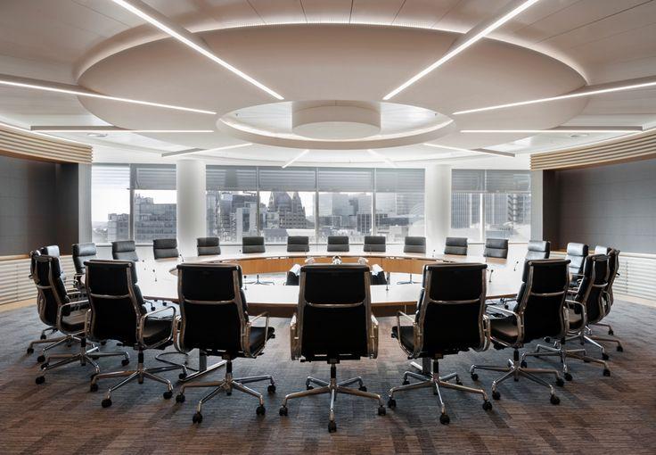 The impressive boardroom in JLT's London office.