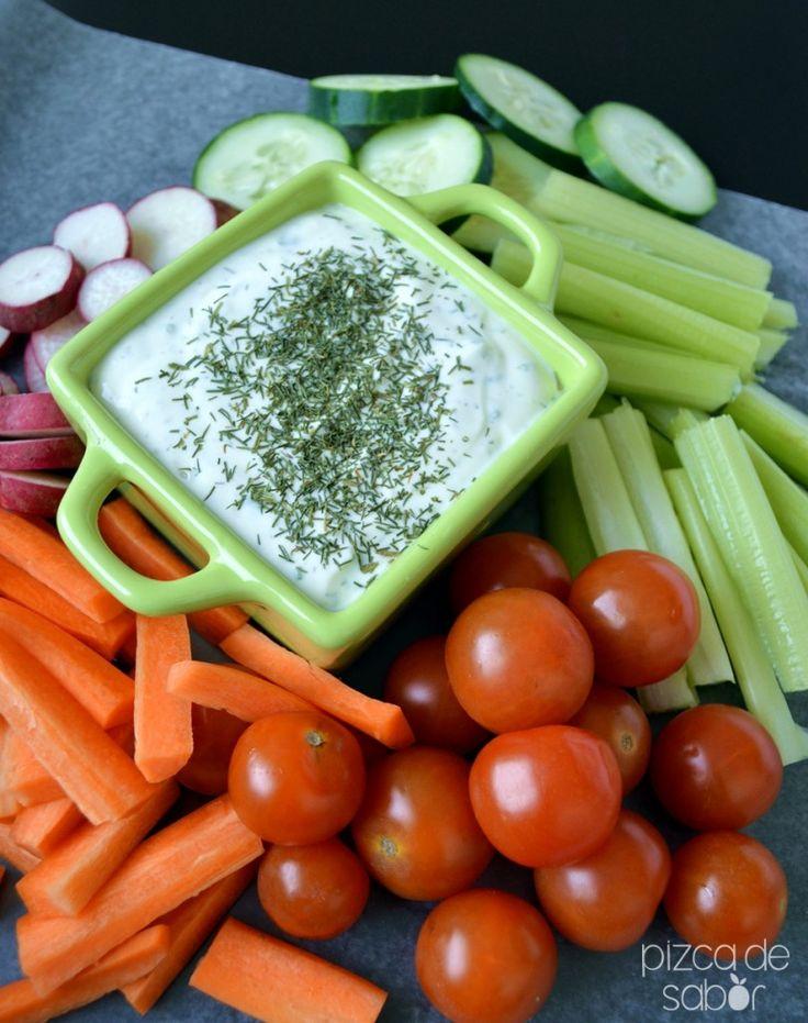 Cómo hacer un aderezo ranch versión saludable - Pizca de Sabor