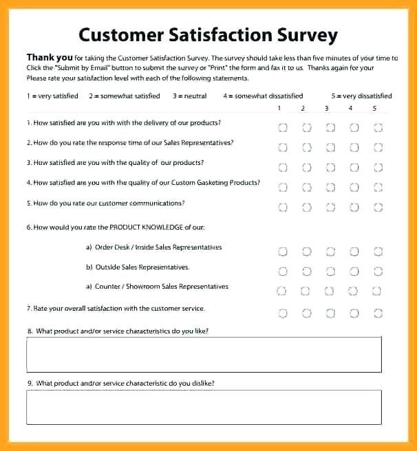 Client Satisfaction Survey Templates Free Customer Feedback Template Blank Form Survey Template Customer Satisfaction Survey Template Customer Survey Questions