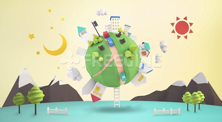 풍경, 배경, 백그라운드, 도시, 마을, 지구, 그래픽, freegine, 3D, 편집포토, 건물풍경, 에프지아이, FGI, FUS069, FUS069_008 #유토이미지 #프리진 #utoimage #freegine 17087003