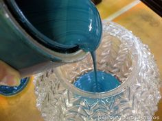 How to get the color glass you want for your glass yard art projects