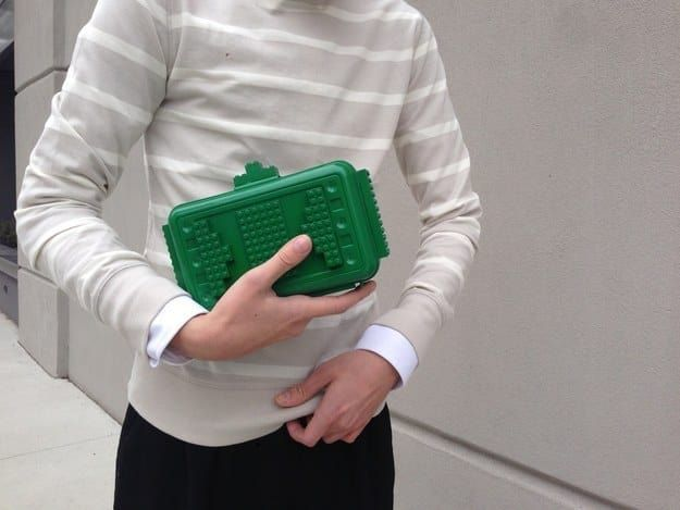 With a little bit of glue, spray paint, and an old lunch box you can have this unique accessory that will definitely make you stand out. To learn how to create the clutch, have a look here.