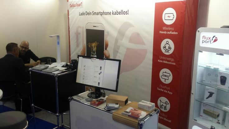 #IFA #2015 #FluxPort #WirelessCharging #Technologies  While you are visiting the Ifa it is possible that you'll get an empty battery just visit our stand and upload your smartphone ;)