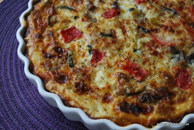 Kesopaj med grönsaker från Nadjas kitchen! 9pp per bit
