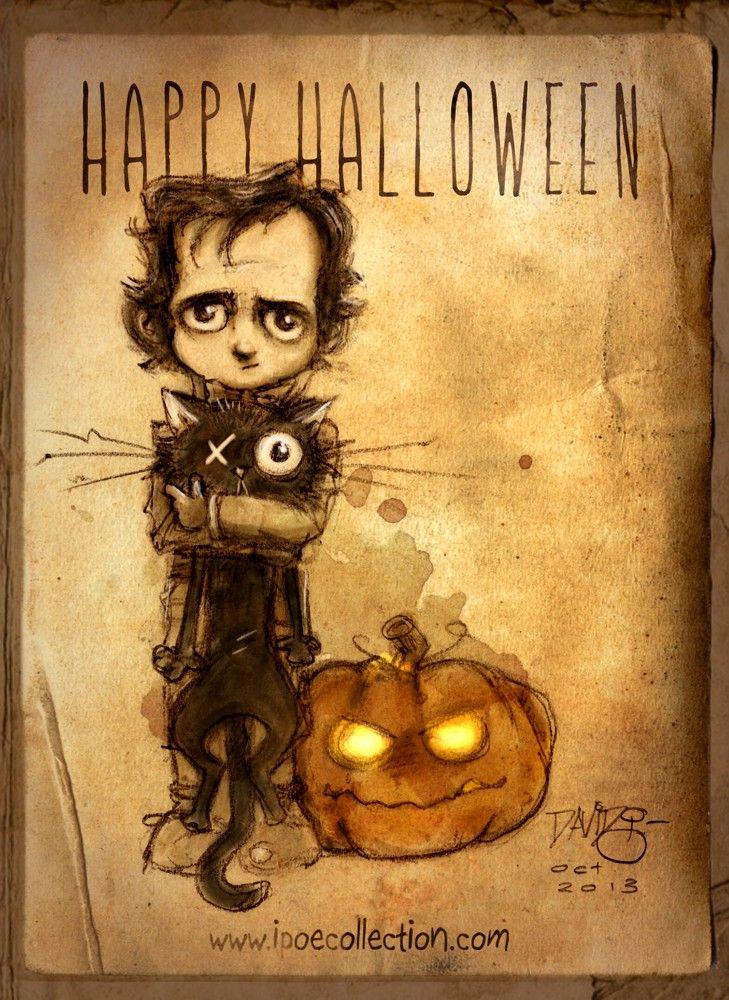 Trick or treat! #Halloween #EdgarAllanPoe