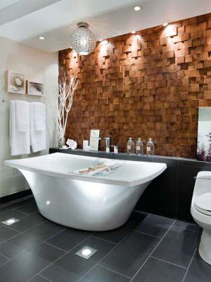 Feature Walls Bathroom Lighting And Lighting Design On
