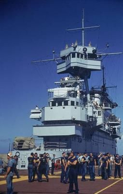Flight crews awaiting return of planes aboard the aircraft carrier USS Enterprise CV-6.Hawaii 1941