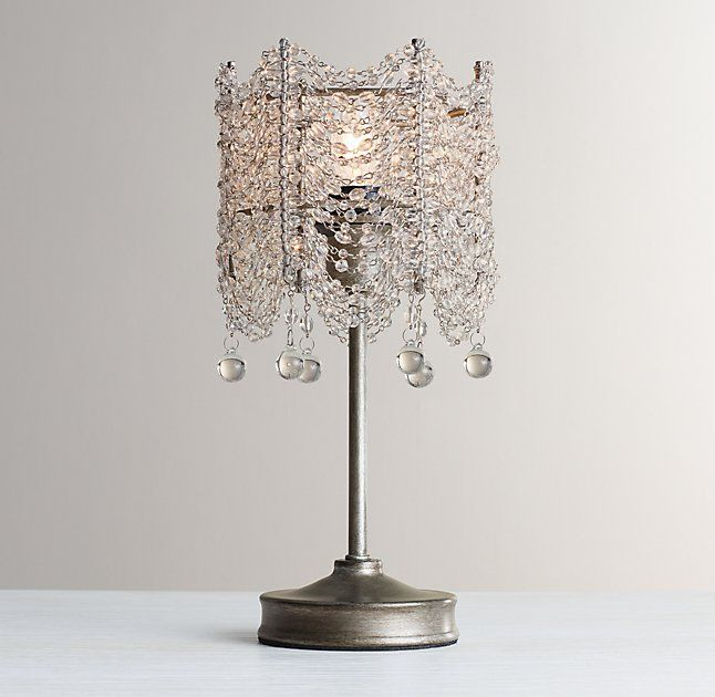 coco crystal accent lamp