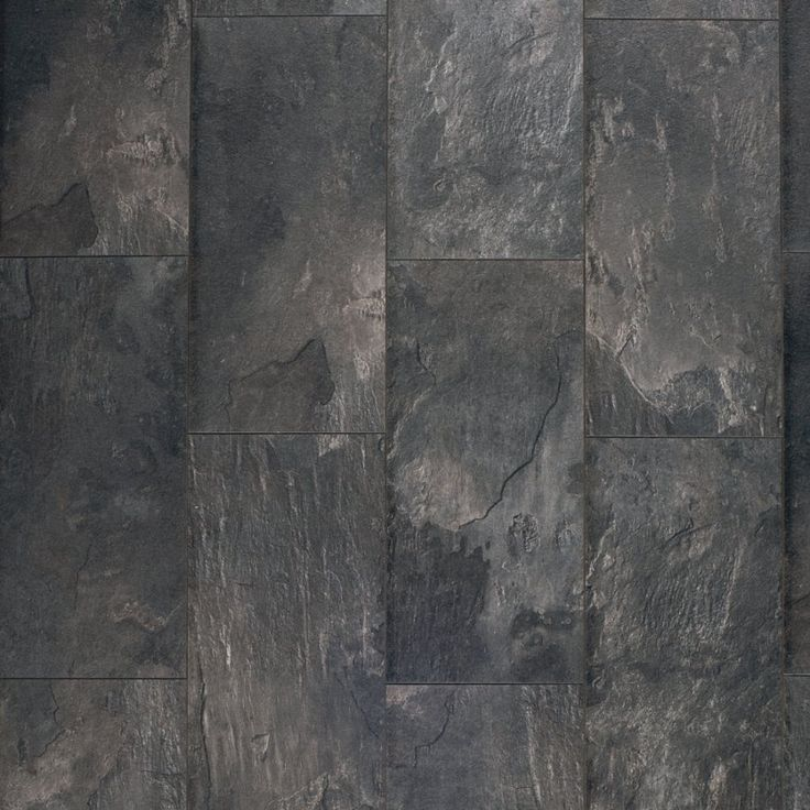 Pergo MAX 11.1-in W x 1.98-ft L Midnight Slate Stone Embossed Laminate Planks | Lowe's Canada