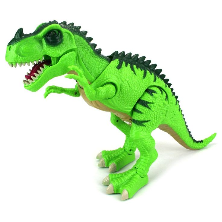 Velocity Toys Dinosaur World Tyrannosaurus Rex Various Color Walking Toy Dinosaur Figure