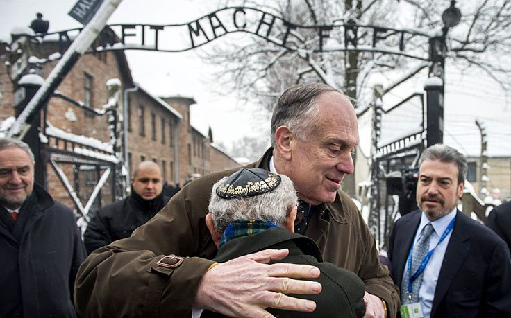 Updates on Holocaust Memorial Day as events take place across Europe to   commemorate 70 years since the liberation of Auschwitz from the Nazis