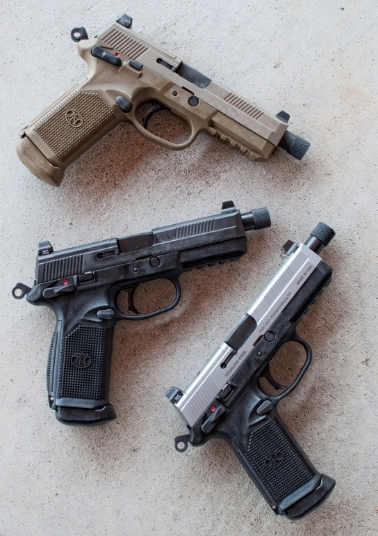 FN FNP-45 Tactical trio.