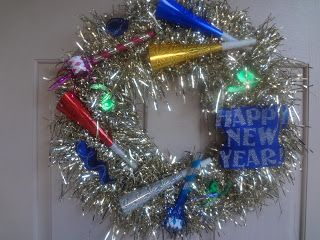 The Busy Broad: New Years Wreath