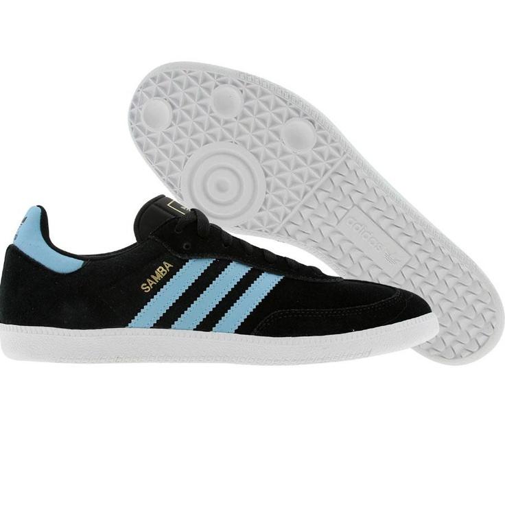 adidas samba blue white
