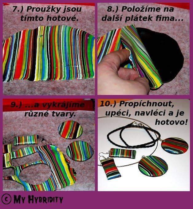 Dája´s instructions: FIMO - Návody a Projekty / Cane and Tutorials