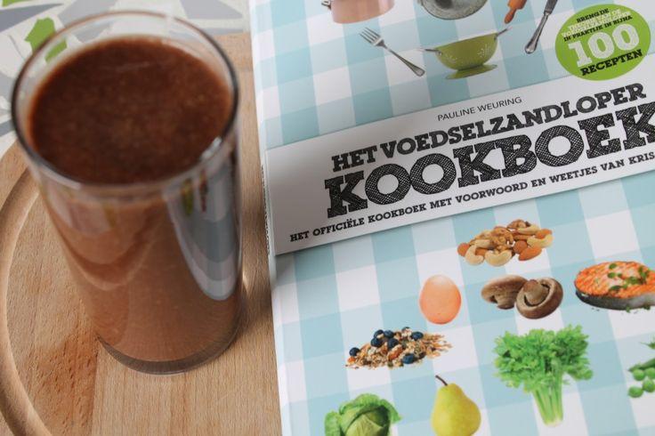 Dag 5: Recensie nieuw Voedselzandloper Kookboek en recept gezonde chocolade milkshake