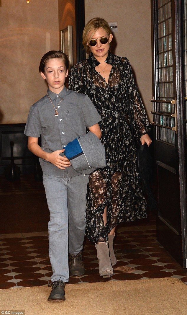 Empire state of mind: Ryder and his movie star mom were snapped in NYC last June