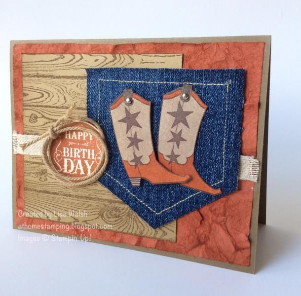 Bootiful Occasions Texas Style by suarezwalsh - Cards and Paper Crafts at Splitcoaststampers
