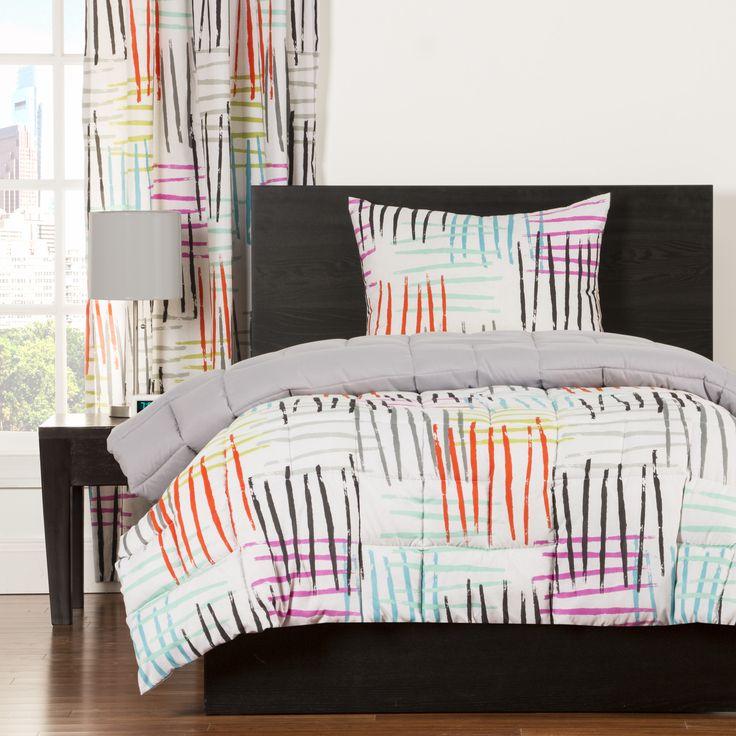 Crayola Stroke of Genius Comforter Set