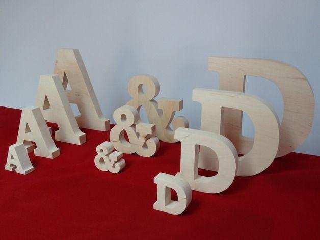 #dawandawalentynki. Drewniane Litery 20 cm + znak & 15 cm, malo... - -Woodoo- - Litery i napisy