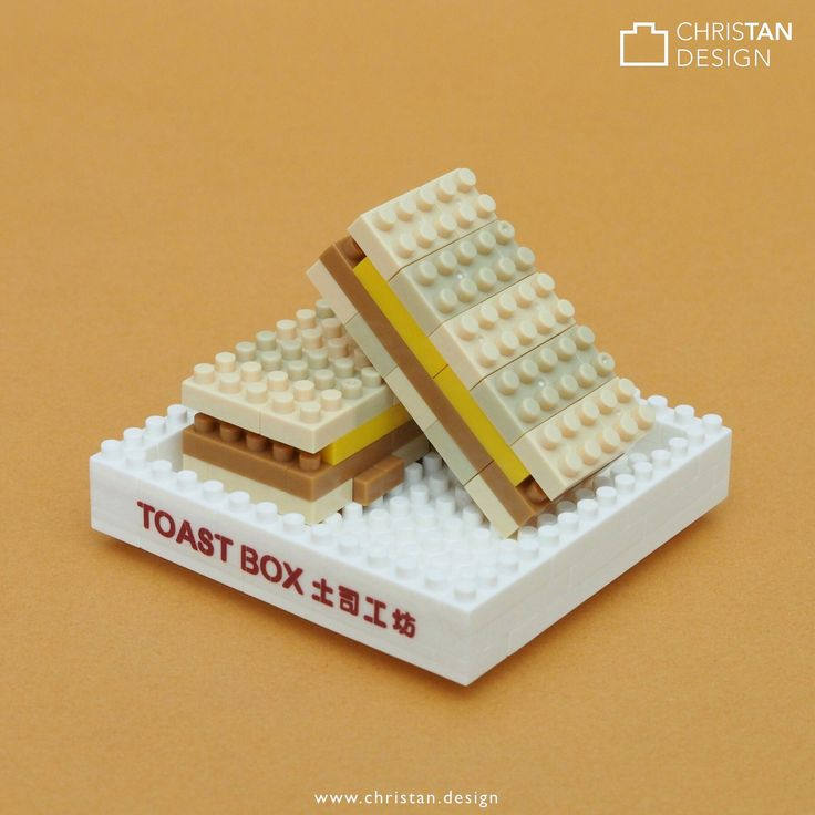 Kaya Toast from the series I created for Toast Box Singapore