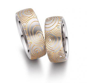 Обручальное кольцо с бриллиантом с одним бриллиантом
