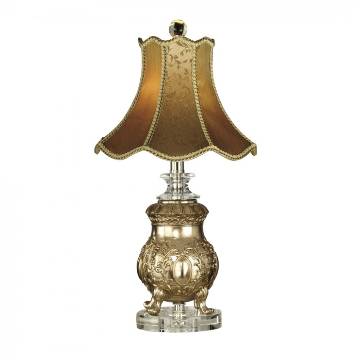 Dale tiffany lamps victorian one light table lamp in imperial crown pt10017