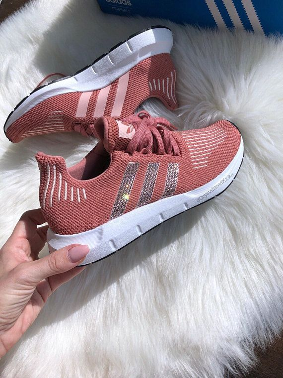 Adidas Swift Run Made with SWAROVSKI® Xirius Rose Crystals ...