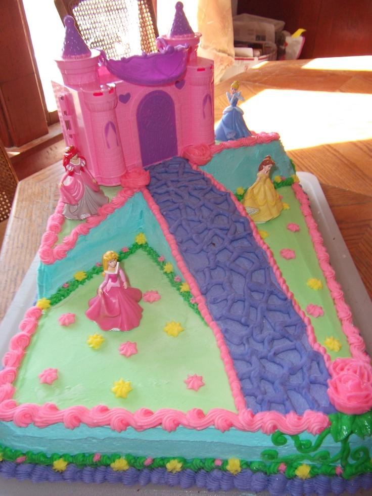 Asda Princess Cake Decorations : Nina s 4th birthday princess cake party ideas ...