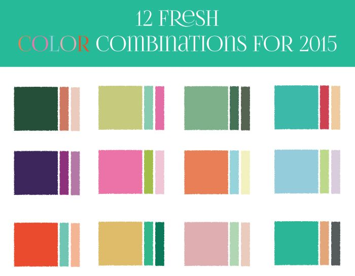151 best Color combinations images on Pinterest Colors Colour