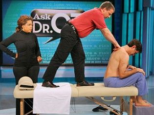 Rolfing - A type of Massage that alleviates muscle pain and tension... do you need it?? Dr. Oz Approved!