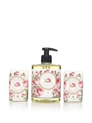50% OFF Panier des Sens Rejuvenating Rose Liquid Soap and Vegetable Soaps, Set of 3
