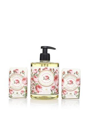 50% OFF Panier des Sens Rejuvenating Rose Liquid Soap and Vegetable Soaps, Set of 3