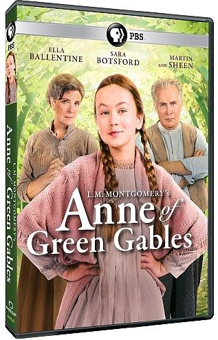 L.M. Montgomery's Anne of Green Gables, the recent telefilm that aired last February on YTV in Canada and that is scheduled to air on PBS on American Thanksgiving, will be released on DVD from PBS on 8 November 2016. It is available to preorder from the PBS Shop.