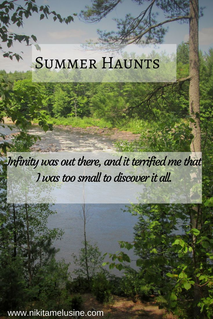 Summer Haunts: There are places and times that never leave you.