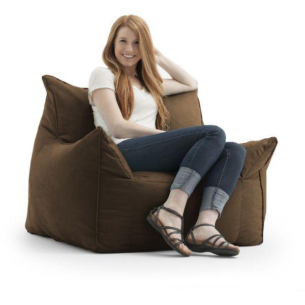 Comfort Research FufSack Memory Foam Imperial Brown Microfiber Bean 160 BagsMovie ChairsBeanbag