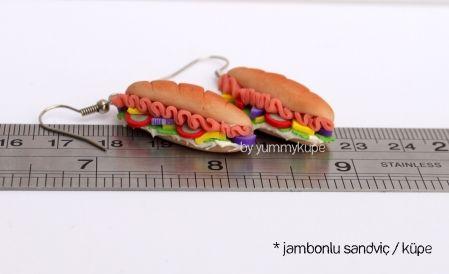 Jambonlu Sandviç  #fashion #design #miniature #food #art #miniaturefoodart #polymerclay #clay #minyatur #polimerkil #kil #nutella #tasarim #taki #sanat #moda #sokak #tutorial #yummykupe #mold #kalip #nasil #bileklik #kolye #kupe #yuzuk #aksesuar #kadin #ring #earring #accesorie #necklace #sandvic #sandwich #jambon #ham