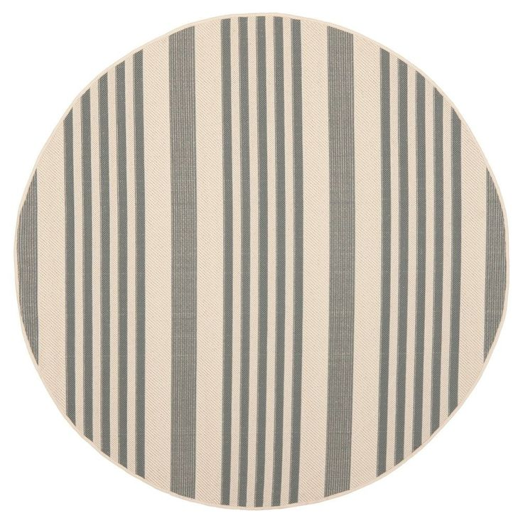 Amazing Santorini Rectangle u X u Patio Rug Grey Bone