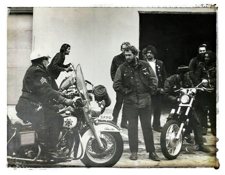 1970 San Francisco Gypsy Jokers Motorcycle Club Cool