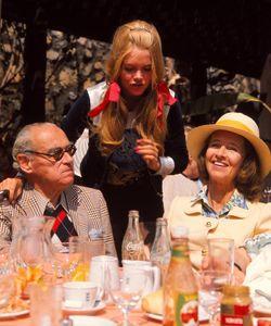 Otto, Ana María and Gunilla Von Bismark in Marbella in 1971.