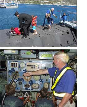 Submarine Tour, Simons Town, Cape Town, South Africa