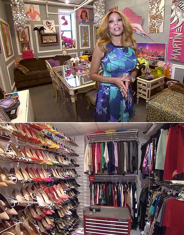 Closet Collection: 235 Best Celebrity Closets Images On Pinterest