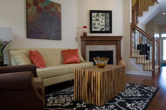 eton 3 bedroom new townhome living room the eton